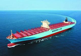 1.9万标准箱中海将接收世界最大集装箱船